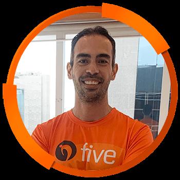 Treinadores Five Brasil 2021 - Alex Kimura da Silva