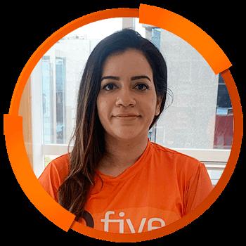 Treinadores Five Brasil 2021 - Monique Oliveira Baptista Cajueiro