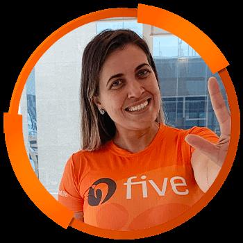 Treinadores Five Brasil 2021 - Tatiane Regina Falavinia dos Santos